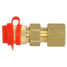 Quick-lock coupling RVS 8, 02449
