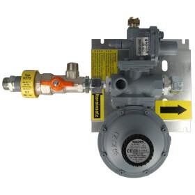 GOK regulator set PS 5 bar 12 kg/h, RVS 15, with TAE and SAV