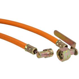 Gas hose, GF connection x 400 mm
