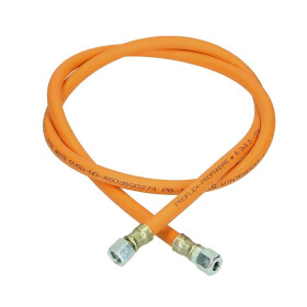Medium-pressure hose assembly G 1/4 lh x G 1/4 lh x 1,000 mm