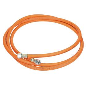 Medium-pressure hose assembly G 1/4 lh x G 1/4 lh x 3,000 mm