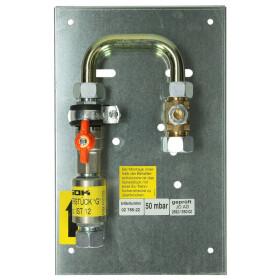 GOK main shut-off valve PS 16 bar CF 18 x CF 18 in cabinet