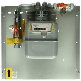 GOK main shut-off valve with gas meter 0.1 bar for indoor...