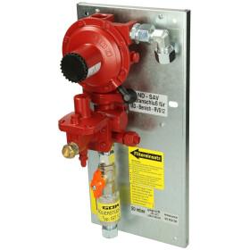GOK regulator set in cabinet CF 15 x CF 15, 50 mbar, 12 kg/h
