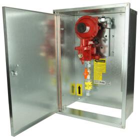 GOK regulator set in cabinet CF 15, 50 mbar, 12 kg/h