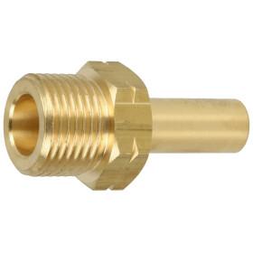 Adapter GF M x pipe socket 12