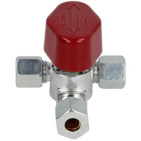 Quick-acting branch valve AV CF 8 x CF 8 x CF 8...