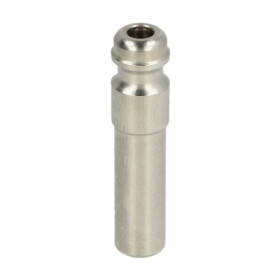 GOK plug-in fitting x pipe socket 8 mm stainless steel