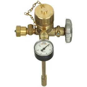 GOK vapour withdrawal valve FST3.1VK PS 25 bar