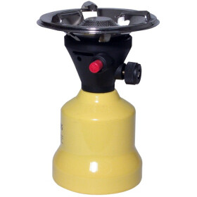 Gas-fired camping stove with piezo ignition 21 300