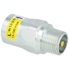 """Gas flow monitor 2,5 m³/h 1/2"""" ET/IT"""
