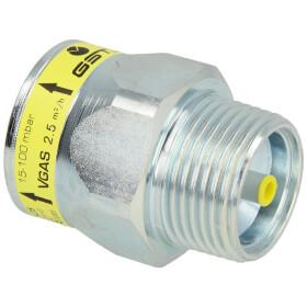 """Gas flow monitor GST25LR0019FM (2.5), 1"""" ET/IT"""