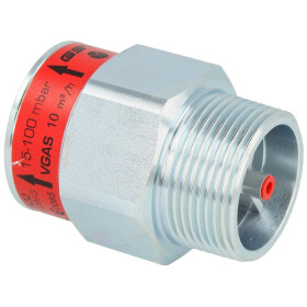 "Gas flow monitor GST32LR0078MF (10), 1 1/4"" ET/IT"