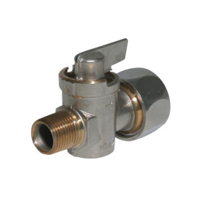 Gas connection tap