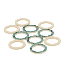 "Buderus Flat seal 1/2"" set 10 pieces 7100192"