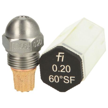 Fluidics Instruments Öldüse Fluidics 0,20-60 S