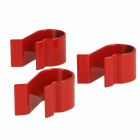 Clamp spring for flue sump pan PU: 3 pieces