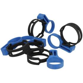 Sieger Hose clip steel tape 5 pieces 63045247